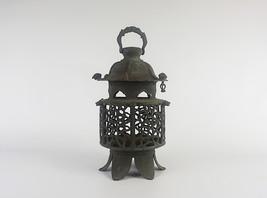 Ryūmai Tsuridōrō, Japanese Antique Metal Lantern - YO23010039 - $1,345.22