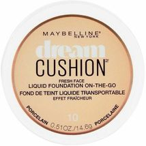 Maybelline Dream Cushion Liquid Foundation 0.51 oz - 10 Porcelain - $8.89