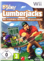 Go Play Lumberjacks Nintendo Wii - Brand New - Factory Sealed - $9.16