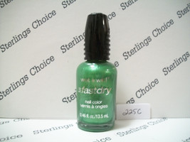 Wet N Wild Fast Dry Nail Color Polish #225C Sage In The City - $6.30