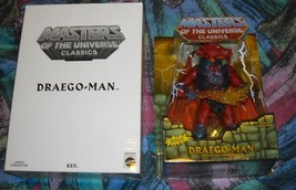 Draego-Man MOTUC Masters of the Universe Classics MOSC MOC He-Man Skeletor  - $105.00