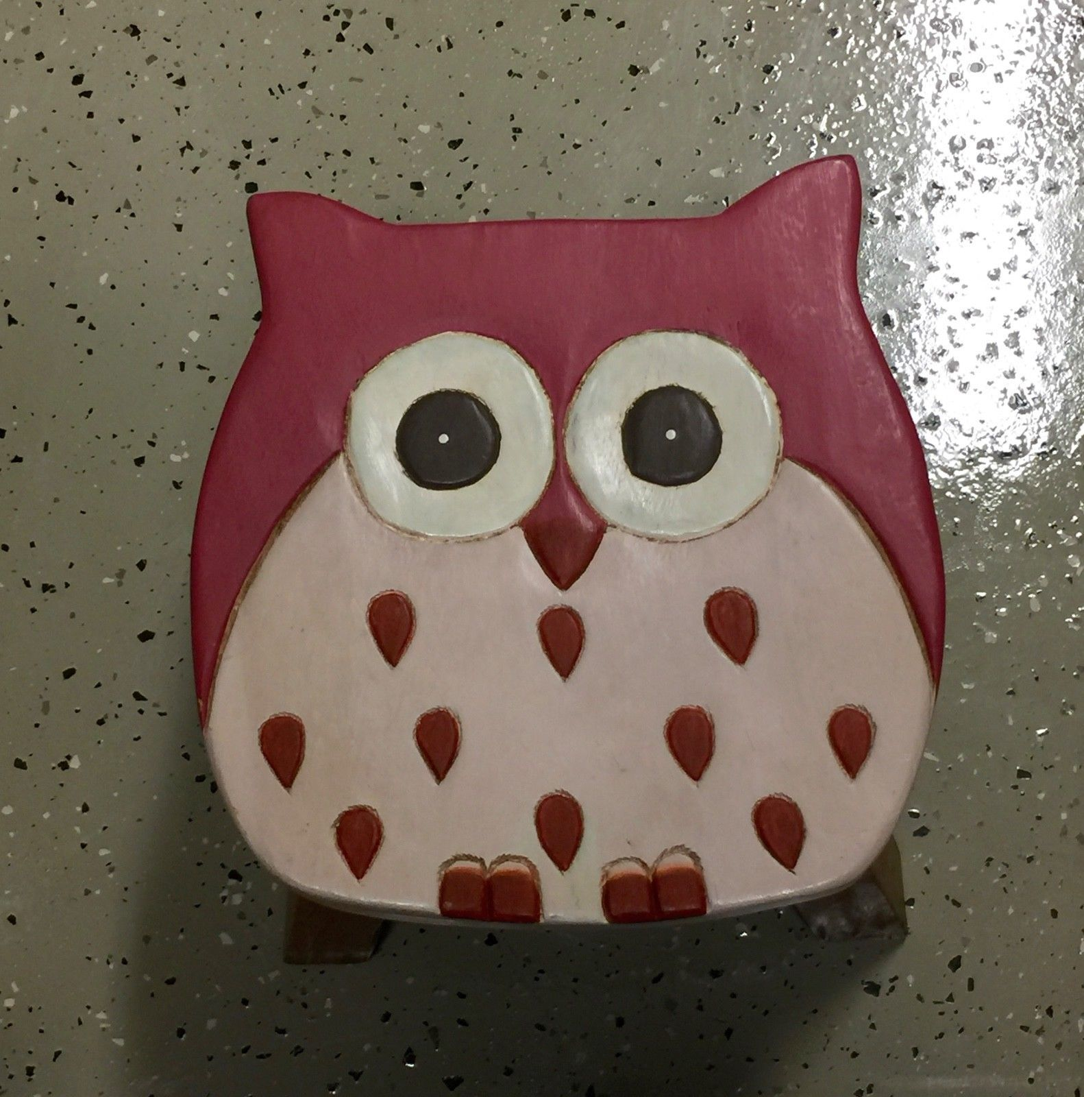 on walut in pugh as kingdom designed part stool united matt made owl uk pink shop of by crowdyhouse home