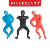 Kikkerland Bottle Opener Luchador BO09-A Mexican Wrestler Colors Vary - $8.26