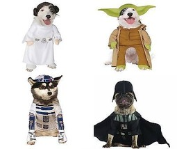 Star Wars Rubies Disney Dog Costumes Yoda, Princess Leia, Vader & R2-D2 NWT - $20.54