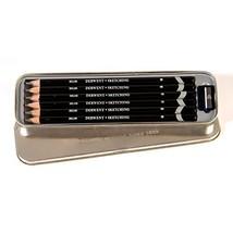 Derwent Sketching Pencils, 4mm Core, Metal Tin, 6 Count (0700836) - $19.79