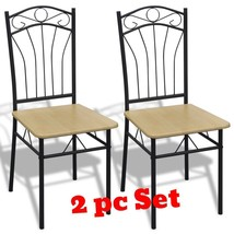 Kitchen Dining Chairs Set Steel Stylish Design Home Bistro Furniture Cle... - $71.51