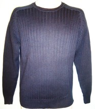 Oscar De La Renta - Navy - Blue - Designer - Crew Neck - Sweater - New - Small - $35.99