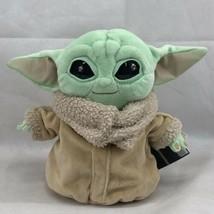 "Star Wars Mattel Mandalorian The Child 8"" Baby Yoda Grogu Plush - $22.76"