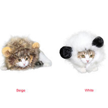 Cat Wig Costume Mane Halloween Ears Headgear Festival Party Collar Suppl... - $12.99
