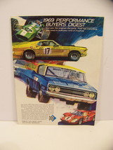 1969 Performance Buyers Digest Ford Cobra Torino Mustang Mach 1 Xl Gt Brochure - $44.99