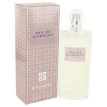 Givenchy Eau De Givenchy Perfume 3.3 Oz Eau De Toilette Spray image 1