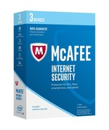 Physical Keycard of McAfee Internet Security 2018 Latest, 3 Computers / ... - $19.19 CAD