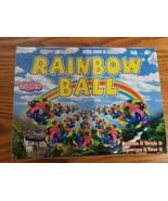 12 NEW Interlaced Knot Rainbow Bouncy Balls Soft Flexible High Bounce 1.... - $3.91