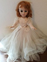 "Vintage 1966 Madame Alexander Elise Bride Doll 17"" Tall All Original Outfit - $85.14"