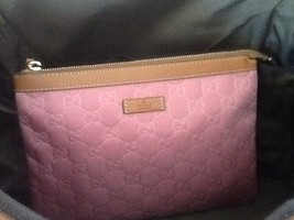 Gucci GG Dark Pink Clutch Bag Italy - $290.99