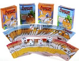 Adventure Time Playing Cards _ Bundle of 4 Decks 2 Styles _ Plus Six Bon... - $21.83