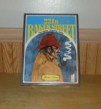 221B Baker Street The Master Detective Board Game Sherlock Holmes Hansen... - $19.58