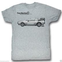 T-Shirts Tailles S-2XL Neuf Retour vers le Futur Delorean Hommes Time Ma... - $42.90+