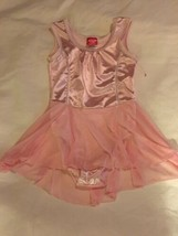 Size Small Future Star Capezio Solid Light Pink Skirted Dance Gymnastic Leotard  - $16.00