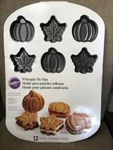 Wilton Whoopie Pie Pan Pumpkin Maple Leaf Acorn 12 Cavity Non-Stick New - $24.95