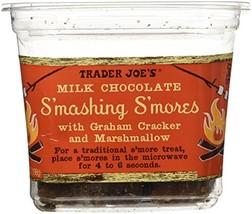 Trader Joe`s Milk Chocolate Smashing Smores with Graham cracker and Marshmallow - $16.07