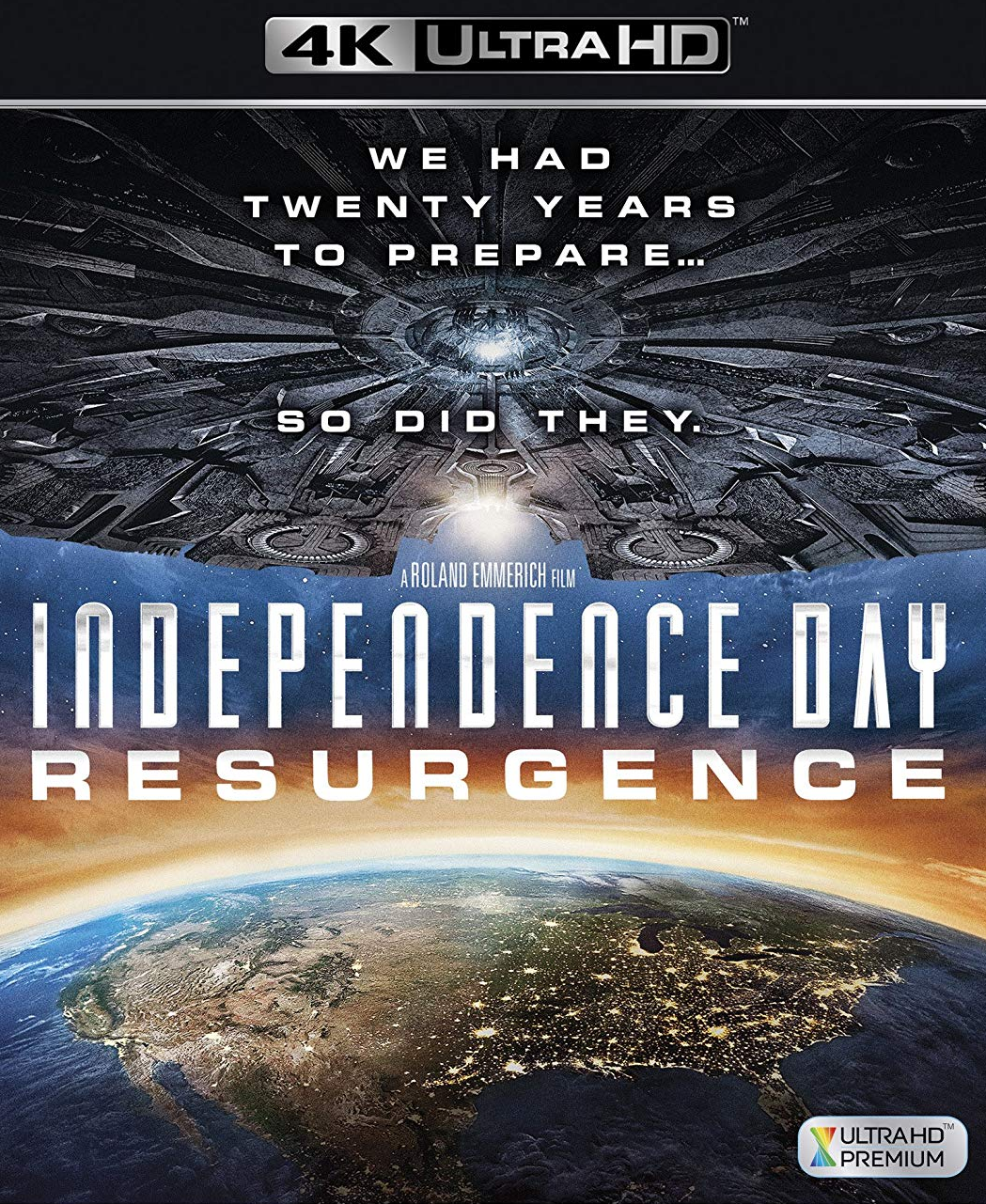 Independence Day Resurgence [4K Ultra HD/Blu-ray, 2016]