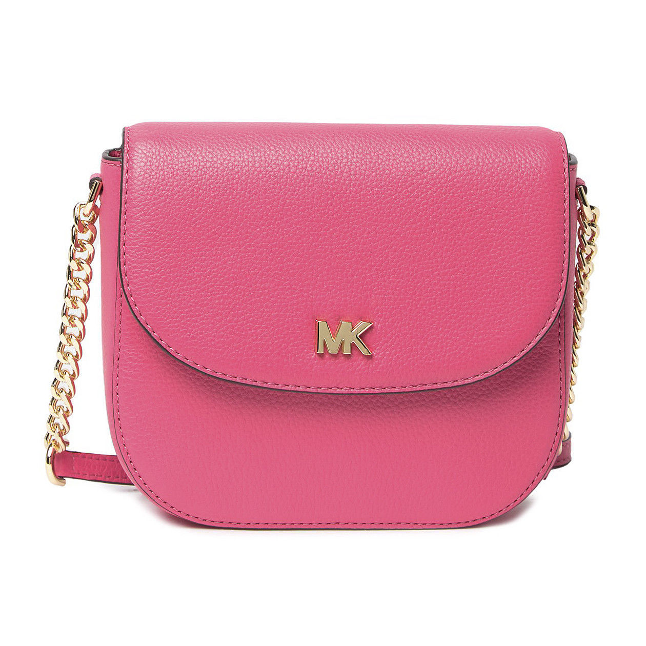 24160f13bbe3ff Michael Kors Deep Pink Leather Gold Hardware and 50 similar items. S l1600