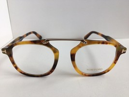 New Tom Ford TF 5495 055 Tortoise 48mm Round Eyeglasses Frame - $249.99