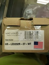 "WAC Lighting HR-LED232R-27-WT 2.75""W 2700K LED Under Cabinet Puck Light - $83.00"