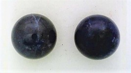 Sodalite Gemstone 8mm Stud Earrings - $9.03