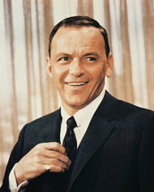 Frank Sinatra Smiling In Suit 1960'S 16X20 Canvas Giclee - $69.99