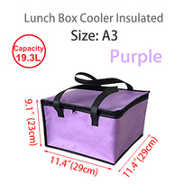 "Lunch Box Cooler Insulated Bag,Lunch Boxes for Adults 11.4""×11.4""×9.1""(S... - $18.99"