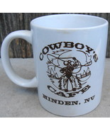 Cowboy's Cafe Minden, NV Mug Cup - $18.00