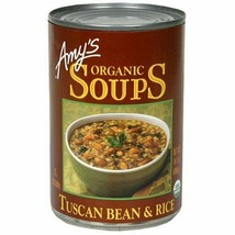 AMY'S, SOUP,OG2,TUSCAN BEAN&RIC 14.1 OZ Pack of 12 - $1,180.77