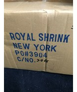 Plastic Shrink Rap Rolls - 2 Rolls Per Ctn - 1500 Ft Per Roll - $45.04