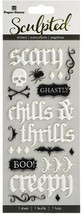 Paper House Halloween Sculped Dimensional Stickers
