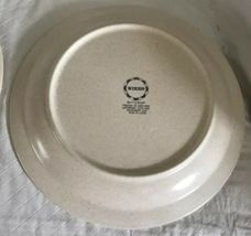 Nikko China Buttercup Pattern 2 Dinner Plates / 1 Soup Bowl Stoneware Unused image 7