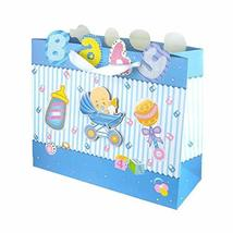 Glittered Baby Items Baby Shower Paper Gift Bags, Small, 10-Inch #PS_16473 - $13.86