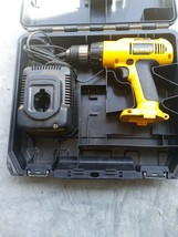DeWALT 12v Cordless Hammer Drill DW975 - Battery Charger DW9071 and Case (BF) - $37.04