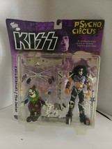 KISS Psycho Circus Paul Stanley and Jester Action Figures 1998 McFarlane - $14.84