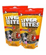 NEW Chewmasters Freeze Dried Beef Liver Bites, 17.6 oz, 2-count FREE SHI... - $56.99