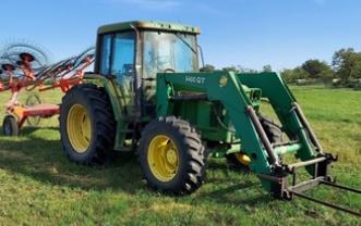 1994 JOHN DEERE 6400 For Sale In Cross Plains, Texas 76443