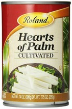 Roland Hearts of Palm, Cultivated, 14 Oz, Pack of Six Cans - $25.14
