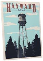 "Pingo World 0205Q6DSM1Y ""Steve Thomas Hayward Wisconsin Water Tower"" Gal... - $43.51"