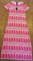 NWT Design History Women's Open Shoulder Short Sleeve Maxi Dress - Missy... - $50.00
