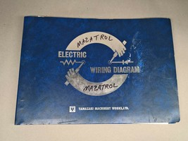 YAMAZAKI ELECTRIC WIRING DIAGRAM MANUAL MAZATROL T-1 ELECTRICAL CIRCUIT CNC - $95.00