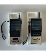 Vintage 1960/1970 Sears Trans Talk 700 Walkie Talkies Japan PROP For Parts - $30.00