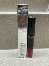 Lancome L'Absolu Lacquer Longwear Lip Color Shade 315 Energy Shot 8ml NIB - $22.76