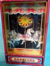 Otagiri Japan Carousel Music Box w/ Motion 12/29 - $19.80