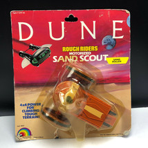 VINTAGE DUNE ACTION FIGURE 1984 LJN MOC rough riders motorized sand scou... - $94.05